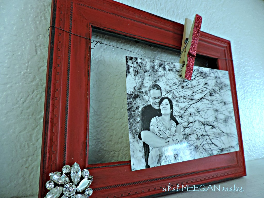 DIY Embellished Frames - What Meegan Makes