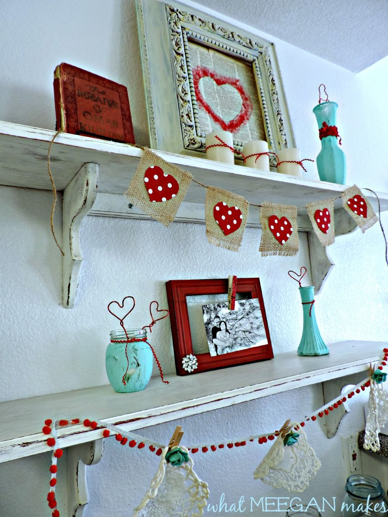 Valentine Shelves