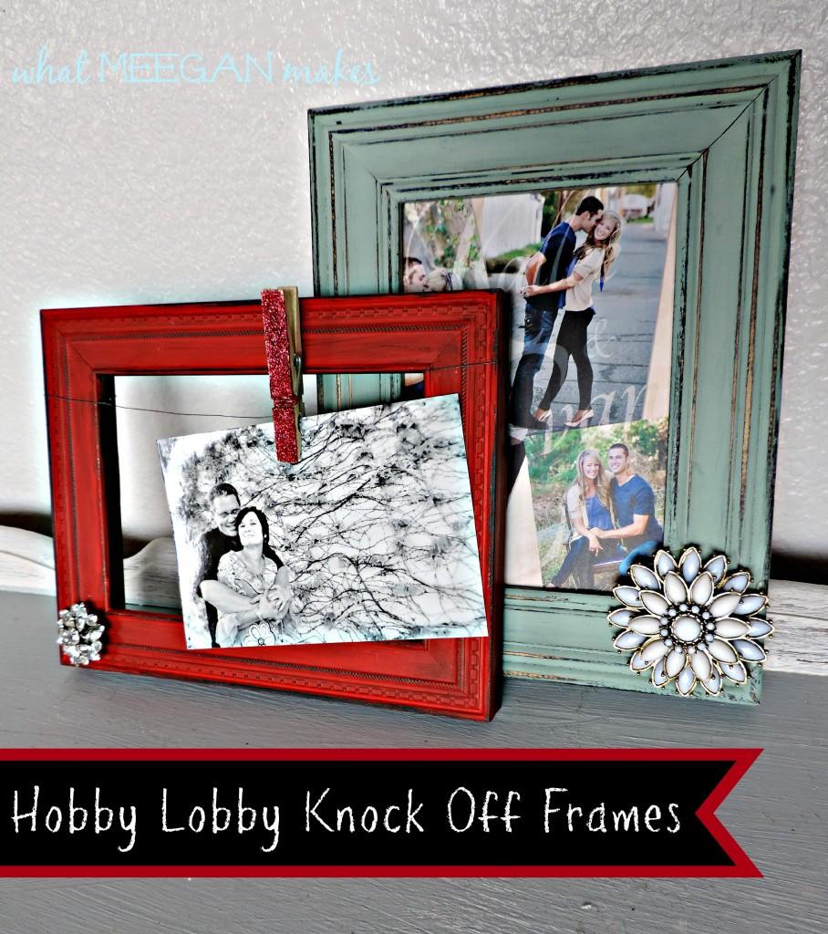 hobby lobby frame adding