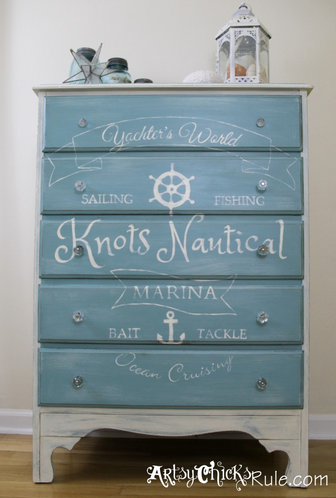 Thrift-Store-Dresser-Coastal-Decor-Annie-Sloan-Chalk-Paint-with-Custom-Graphics-691x1024