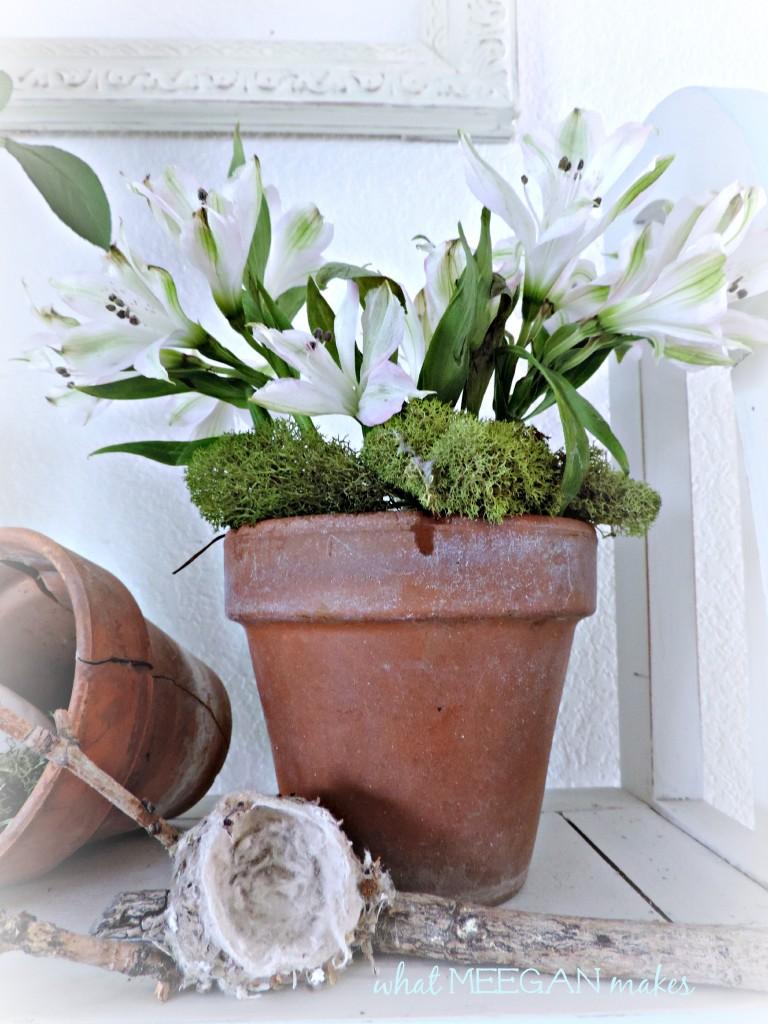 DIY Terracotta Pot Turned Vase