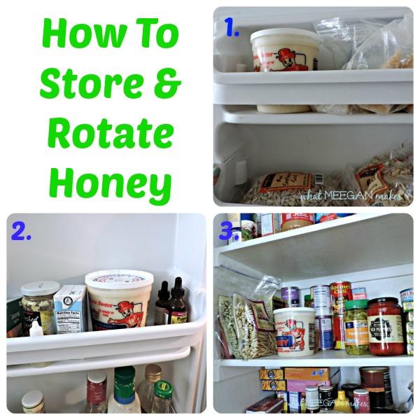 How To Store & Rotate Honey