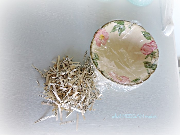 DIY Book Page Bird Nest  #whatmeeganmakes