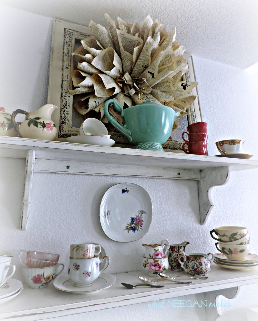My Tea Time Shelves
