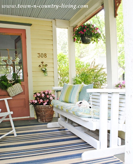 Glider-on-Farmhouse-Porch