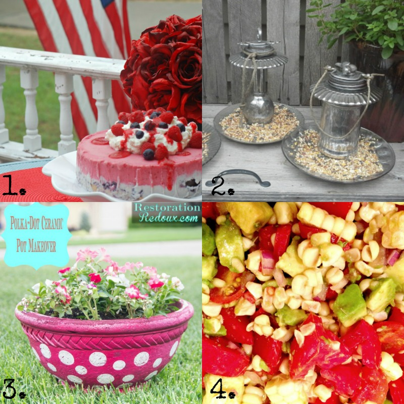 Summer Ideas, Recipes and Projects