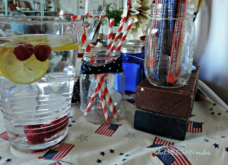 Easy 4th of July Buffet