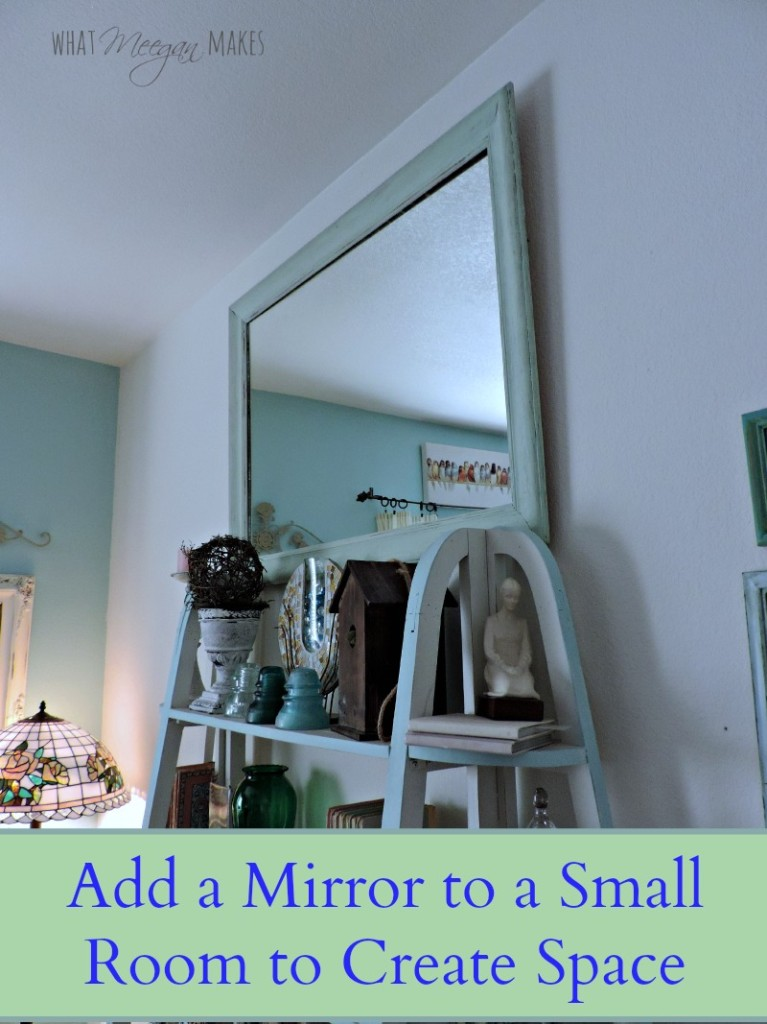 Adding a Mirror To Create More Space
