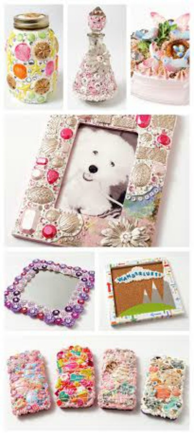 Diy embellished frame what meegan makes for Michael craft store phone number