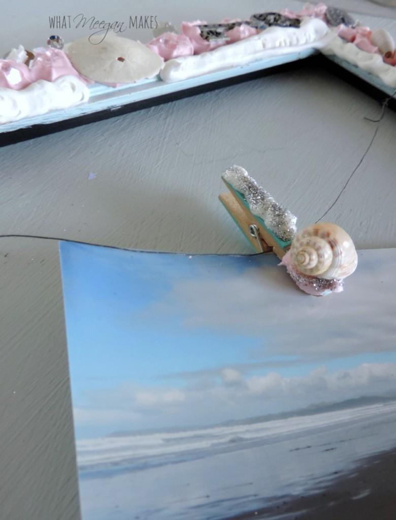 DIY Embellished Frame