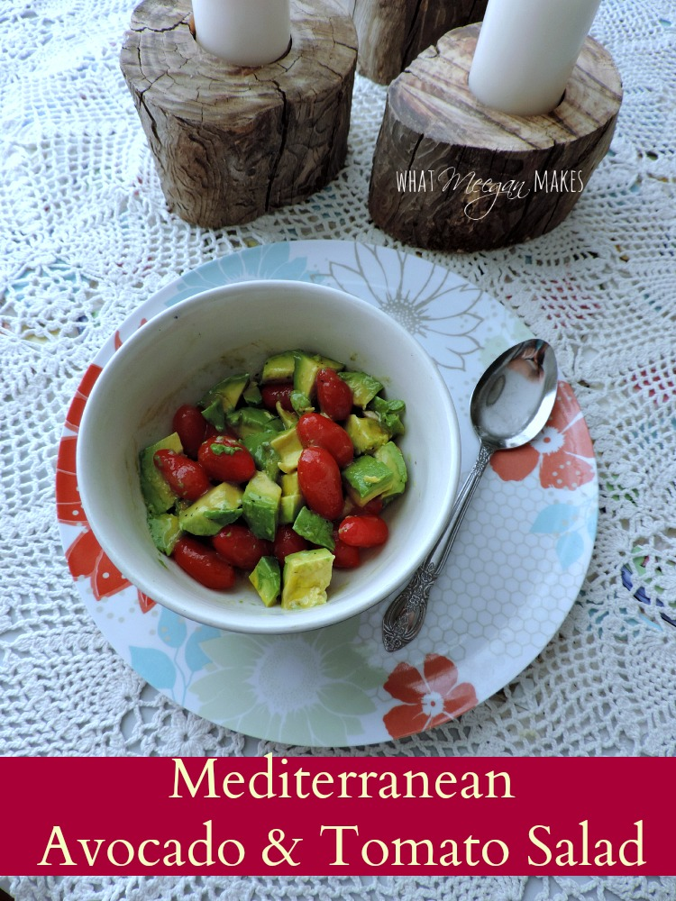 Mediterranean Avocado & Tomato Salad