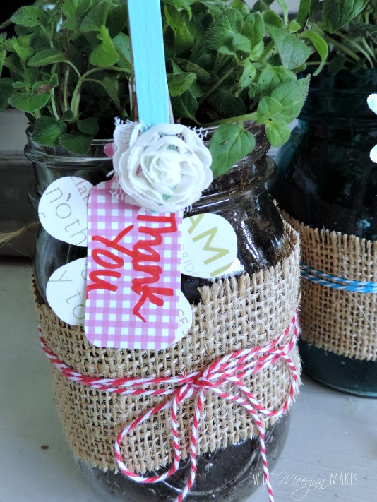 EASY Mason Jar Thank You Gift Idea