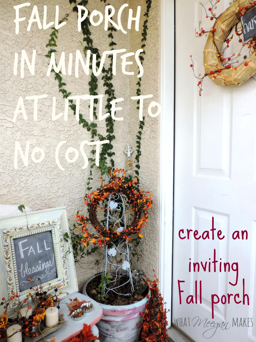 Create an Inviting Porch Fall