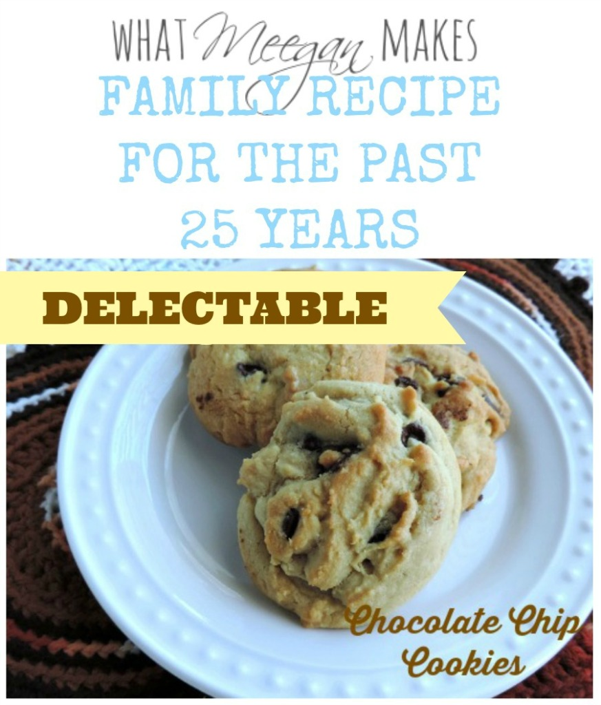 Family Recipe for Chocolate Cookies-What Meegan Makes