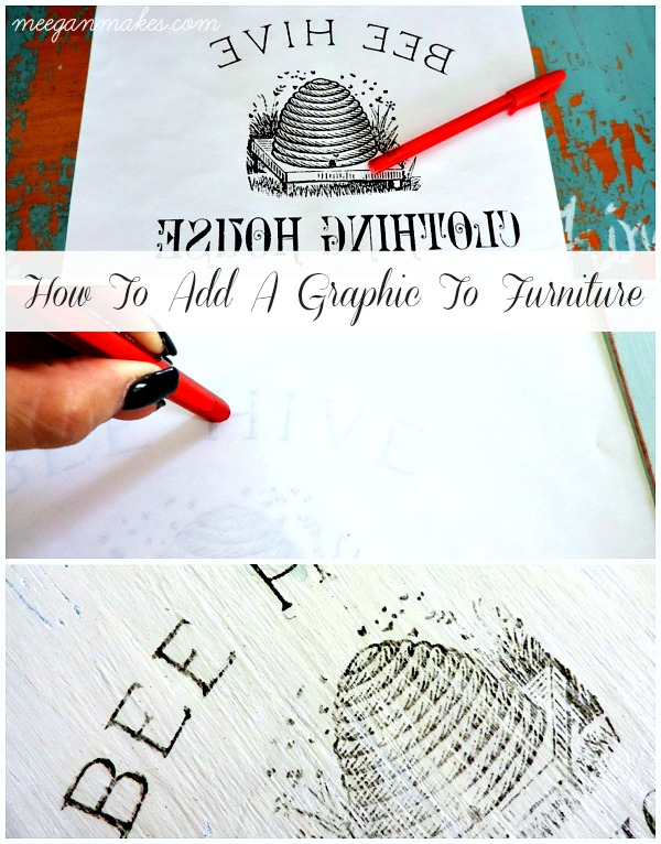 How To Add a Graphic To Furniture The Easy Way