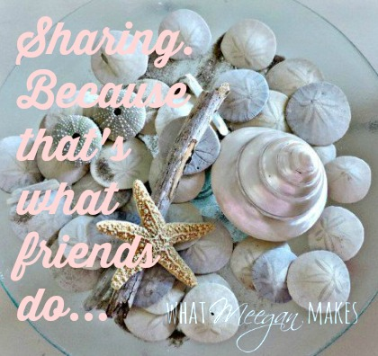 Sharing. Because