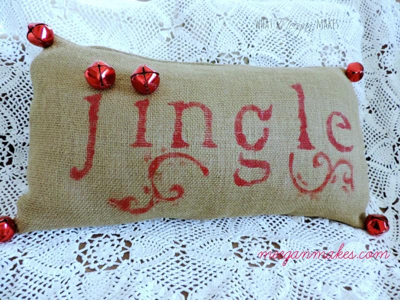pb jingle pillow