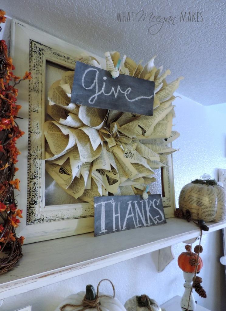 Give Thanks Shelves