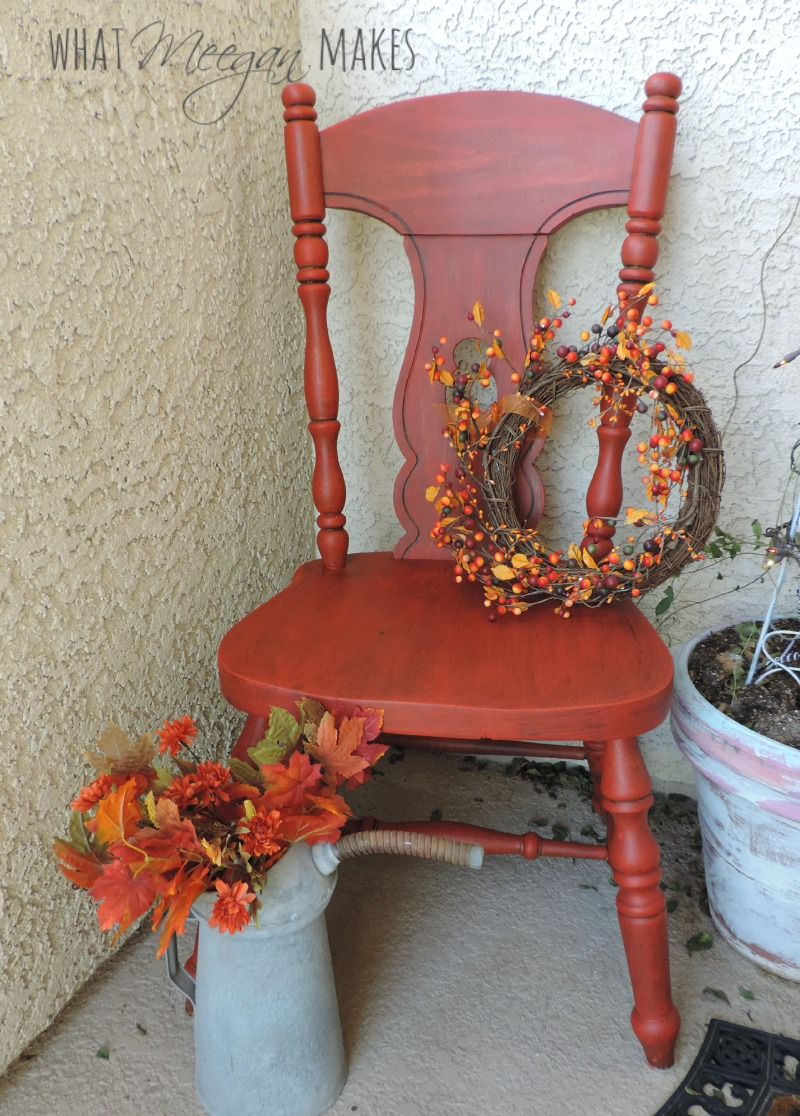 Red Chair Painted