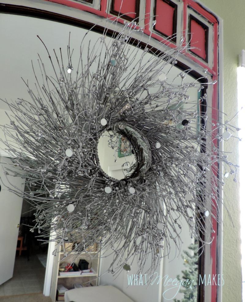 Thrifted DIY Christmas Wreath