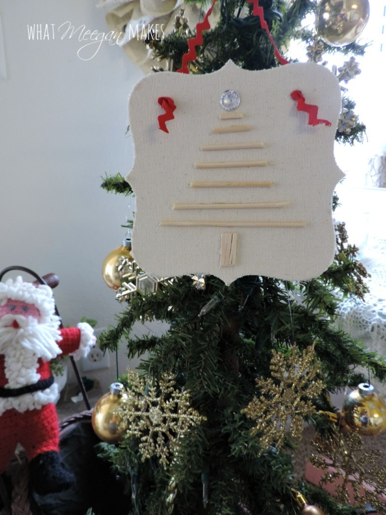 DIY Christmas Tree Ornament1