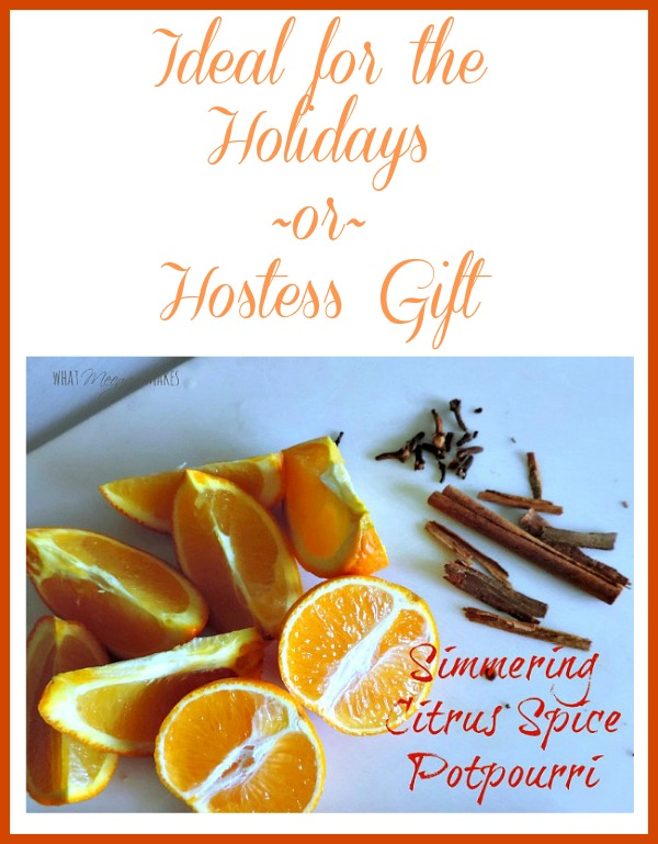 Simmering Citrus Spice Potpourri Perfect for the Holidays