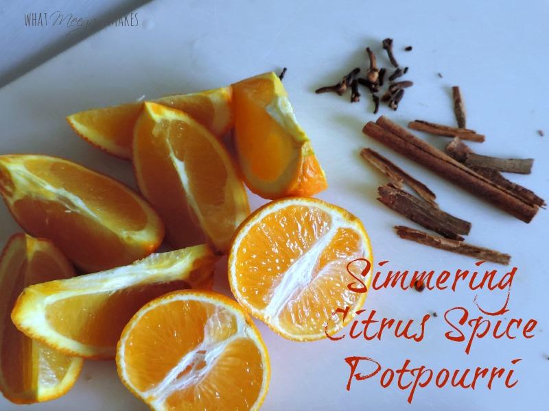 Simmering Citrus Spice Potpourri