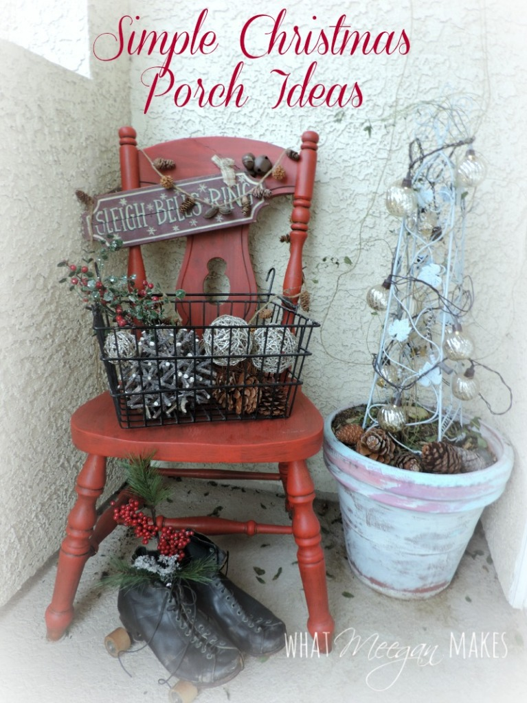 Simple Christmas Porch Ideas
