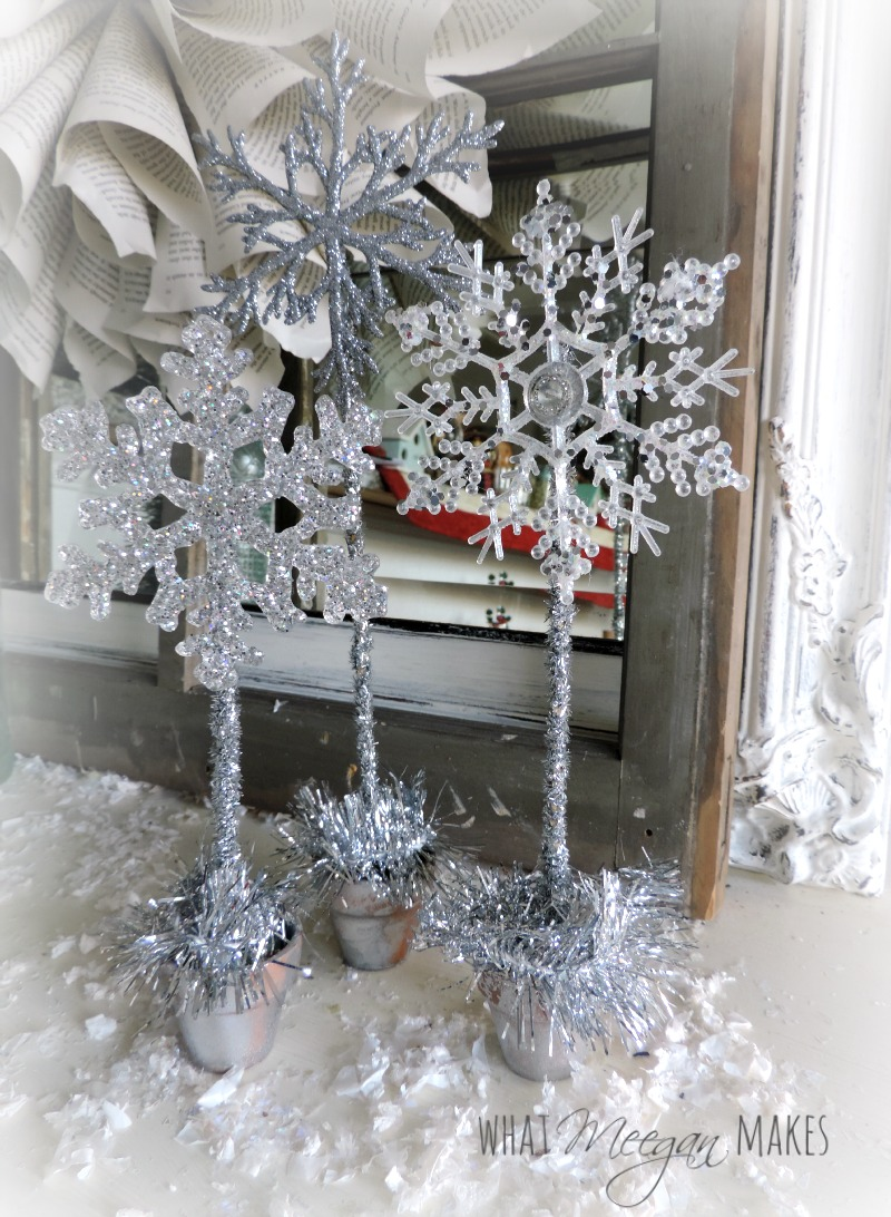 Snowflakes in Pots