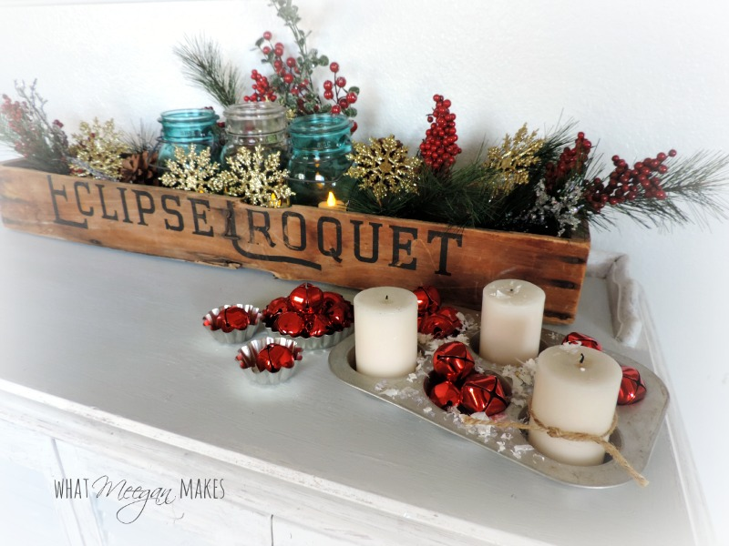 Vintage Croquet Christmas Box