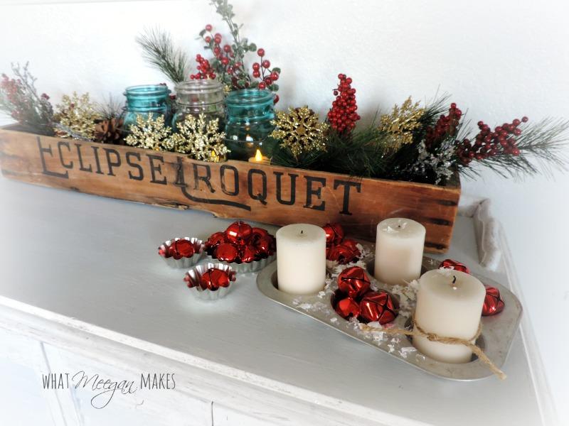Vintage Croquet Christmas Box