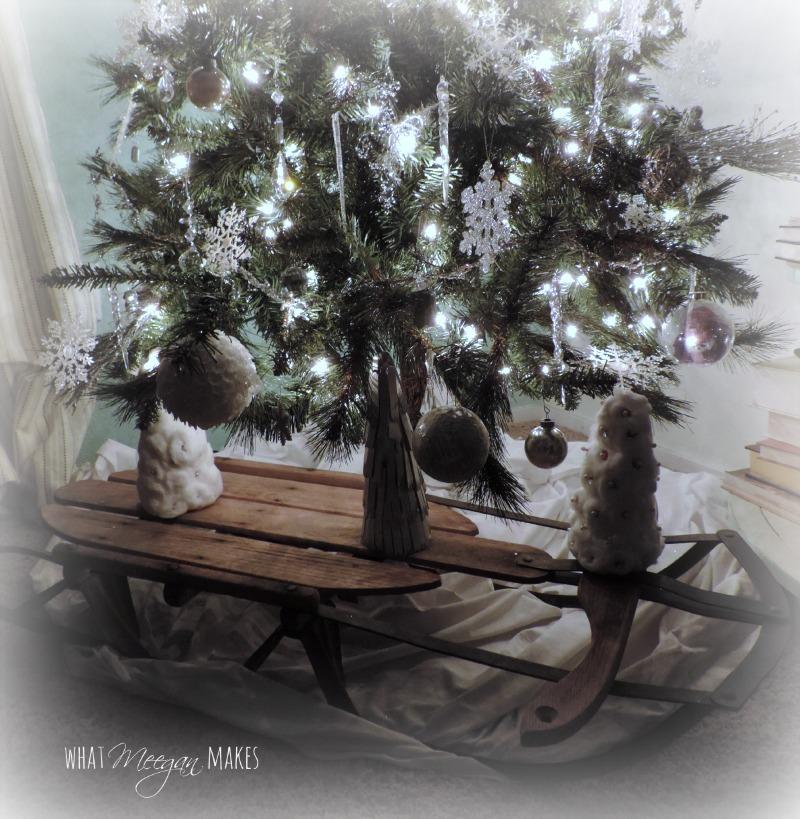 christmastreesled