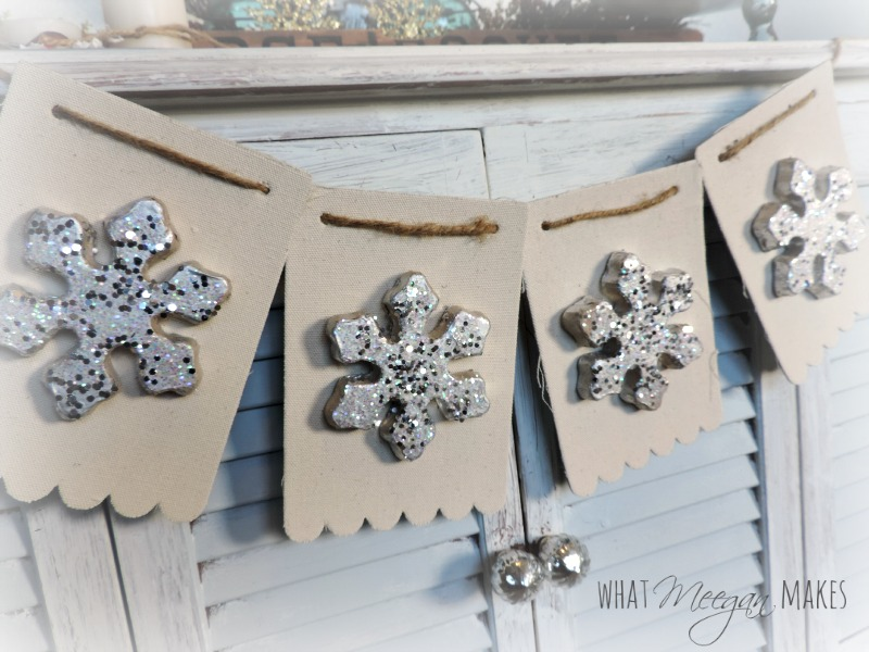 snowflake banner by what meegan makes