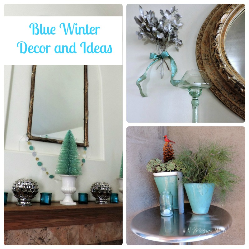 Blue Winter Decor and Ideas