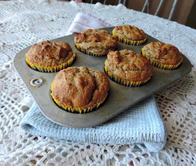 Gluten Free Fat Free Banana Muffins (1)