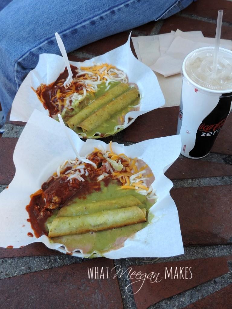 Olvera Street Food