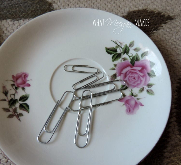 Plate Gallery with Paper Clips
