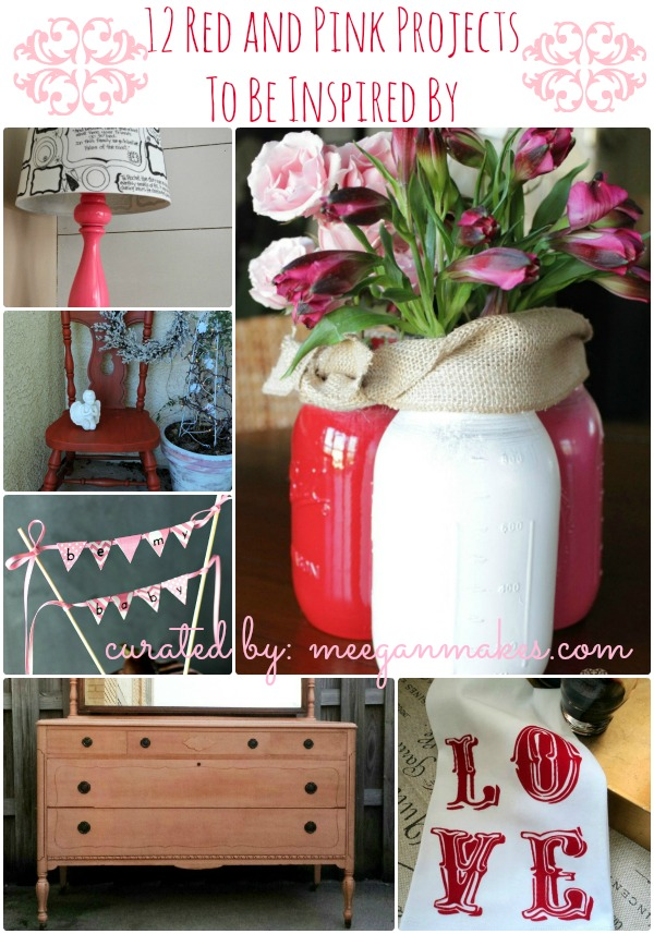 12 Red and Pink Projects to be Inspired By