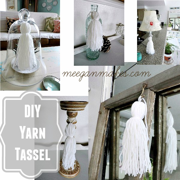 DIY Yarn Tassel Collage