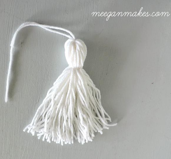 How to Make A Yarn Tassel