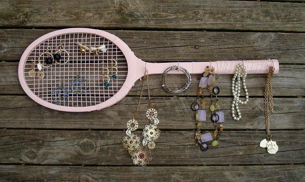 Jewelry Tennis Racket