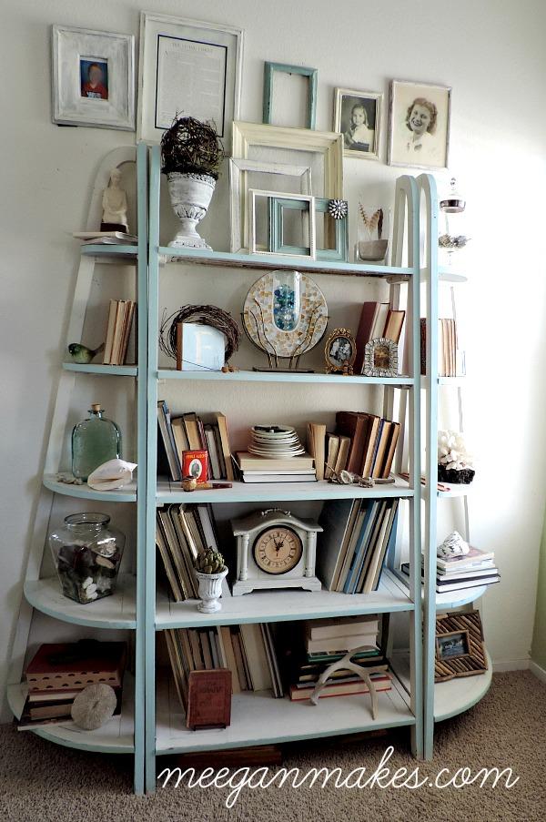 Living Room Book Shelves