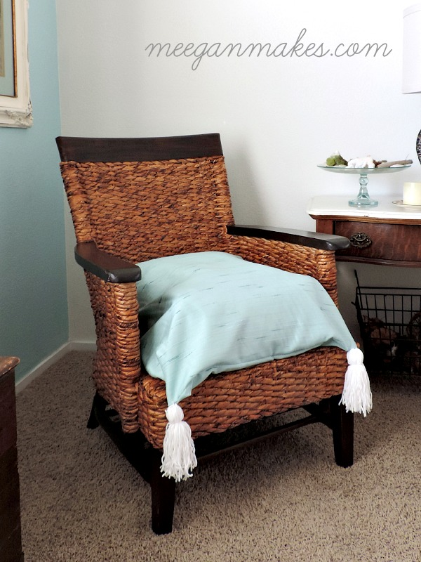 Rattan Chair Makeover