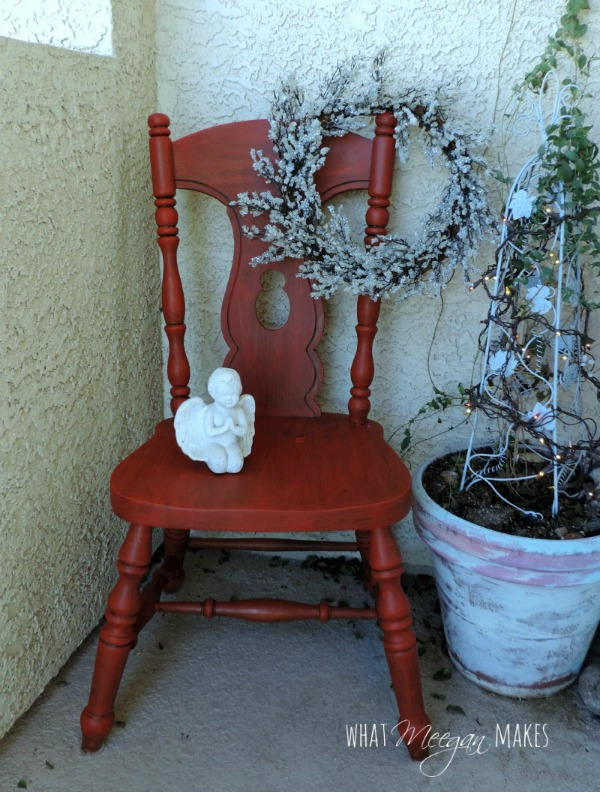 Red Chair Finished