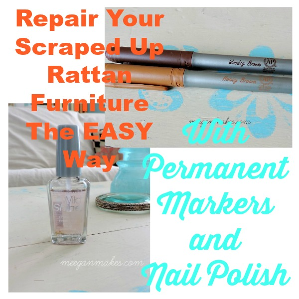 Repair Your Scraped Up Rattan Furniture the Easy Way