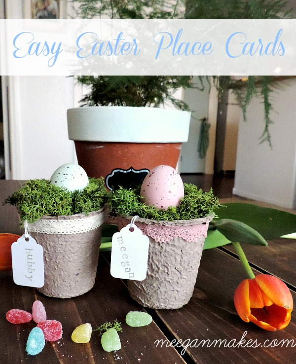 Easy Easter Place Cards