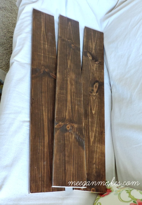 FarmHouse Planks Stained