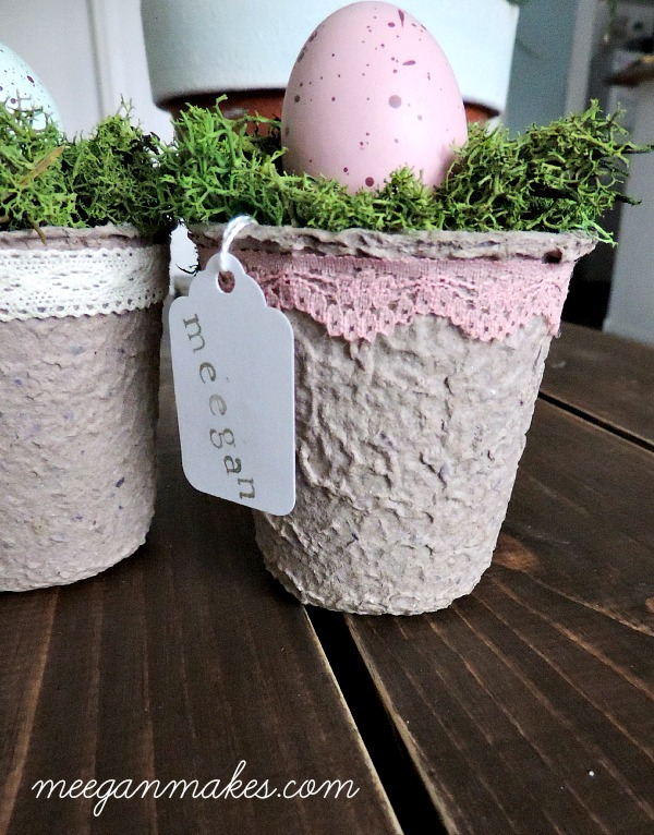 How To Make an Easter Place Card