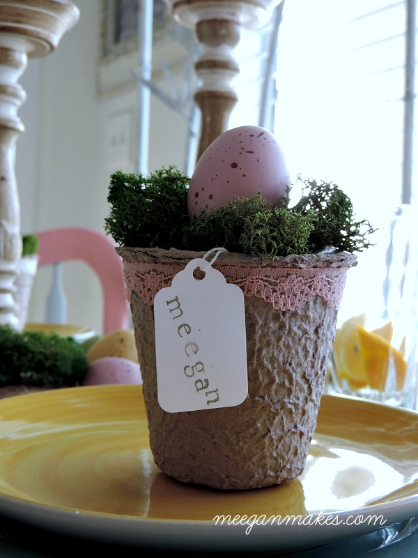 Spring Table Place Card