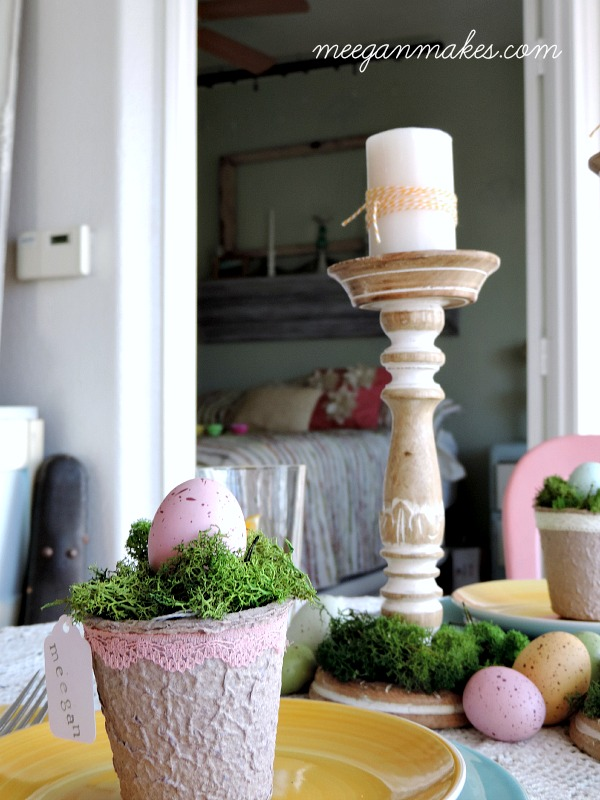 Spring Tablescape Idea